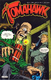 Cover Thumbnail for Tomahawk (Semic, 1977 series) #3/1984