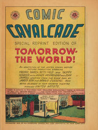 "Cover Thumbnail for Comic Cavalcade ""Tomorrow the World"" (DC, 1945 series)"