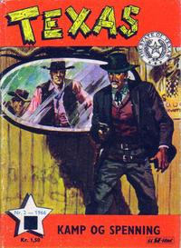 Cover for Texas (Serieforlaget / Se-Bladene / Stabenfeldt, 1953 series) #2/1966