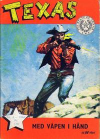 Cover Thumbnail for Texas (Serieforlaget / Se-Bladene / Stabenfeldt, 1953 series) #6/1966
