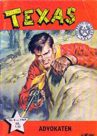 Cover Thumbnail for Texas (Serieforlaget / Se-Bladene / Stabenfeldt, 1953 series) #8/1969