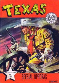 Cover Thumbnail for Texas (Serieforlaget / Se-Bladene / Stabenfeldt, 1953 series) #19/1969