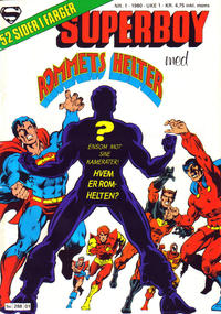 Cover Thumbnail for Superboy (Semic, 1977 series) #1/1980