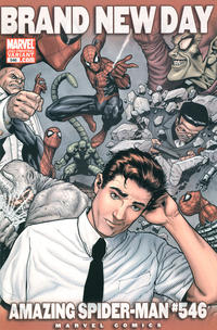 Cover Thumbnail for The Amazing Spider-Man (Marvel, 1999 series) #546 [2nd Print Variant]