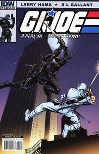 Cover Thumbnail for G.I. Joe: A Real American Hero (IDW, 2010 series) #164 [Cover A]