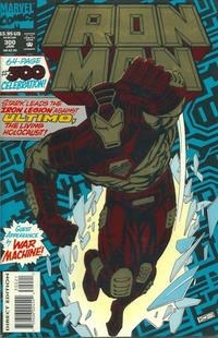 Cover for Iron Man (Marvel, 1968 series) #300 [Regular Direct Edition]