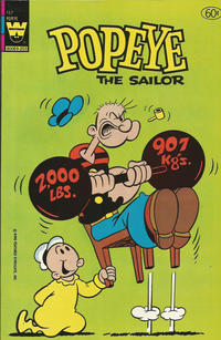 Cover Thumbnail for Popeye the Sailor (Western, 1978 series) #167