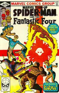 Cover Thumbnail for Marvel Team-Up (Marvel, 1972 series) #100 [Direct]