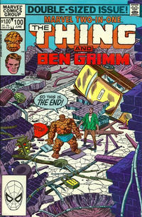 Cover Thumbnail for Marvel Two-in-One (Marvel, 1974 series) #100 [Direct]