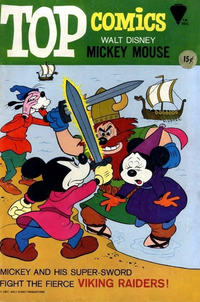 Cover Thumbnail for Top Comics Walt Disney Mickey Mouse (Western, 1967 series) #4