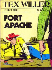 Cover Thumbnail for Tex Willer (Illustrerte Klassikere / Williams Forlag, 1971 series) #11/1972
