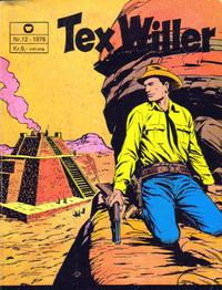 Cover Thumbnail for Tex Willer (Illustrerte Klassikere / Williams Forlag, 1971 series) #12/1976