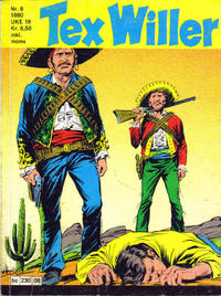 Cover Thumbnail for Tex Willer (Semic, 1977 series) #6/1980