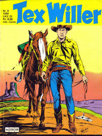 Cover Thumbnail for Tex Willer (Semic, 1977 series) #8/1980