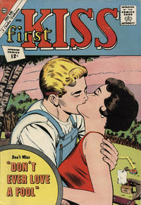 Cover Thumbnail for First Kiss (Charlton, 1957 series) #25