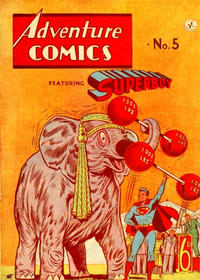 Cover Thumbnail for Adventure Comics Featuring Superboy (K. G. Murray, 1949 ? series) #5