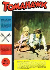 Cover Thumbnail for Tomahawk (Serieforlaget / Se-Bladene / Stabenfeldt, 1965 series) #1/1966