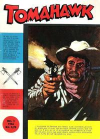 Cover Thumbnail for Tomahawk (Serieforlaget / Se-Bladene / Stabenfeldt, 1965 series) #3/1966