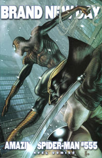 Cover Thumbnail for The Amazing Spider-Man (Marvel, 1999 series) #555 [Incentive Simone Bianchi Variant]