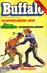 Cover Thumbnail for Buffalo (Semic, 1982 series) #3/1982