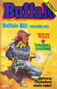 Cover Thumbnail for Buffalo (Semic, 1982 series) #4/1982