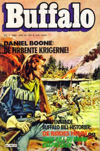 Cover Thumbnail for Buffalo (Semic, 1982 series) #7/1982