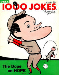 Cover Thumbnail for 1000 Jokes (Dell, 1939 series) #83