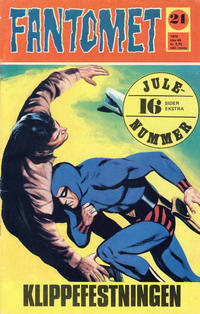 Cover Thumbnail for Fantomet (Romanforlaget, 1966 series) #24/1970