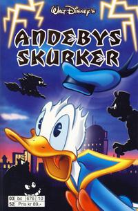 Cover Thumbnail for Donald Duck Tema pocket; Walt Disney's Tema pocket (Hjemmet / Egmont, 1997 series) #Andebys skurker