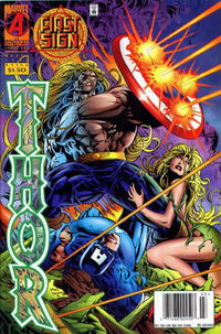Cover Thumbnail for Thor (Marvel, 1966 series) #496 [Newsstand]