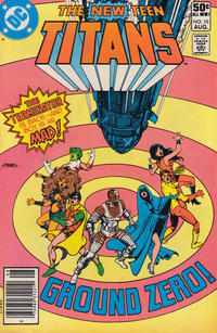 Cover Thumbnail for The New Teen Titans (DC, 1980 series) #10 [Newsstand]