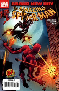 Cover Thumbnail for The Amazing Spider-Man (Marvel, 1999 series) #549 [Dynamic Forces John Romita Cover]