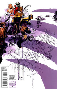 Cover for X-Men (Marvel, 2010 series) #9 [Variant Edition - Captain America]