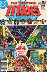 Cover Thumbnail for The New Teen Titans (DC, 1980 series) #8 [Newsstand]
