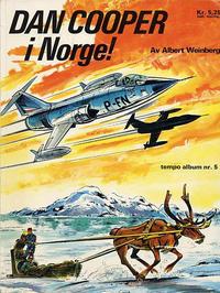 Cover Thumbnail for Tempo album (Hjemmet / Egmont, 1967 series) #5 - Dan Cooper i Norge!