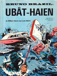 Cover Thumbnail for Tempo album (Hjemmet / Egmont, 1967 series) #8 - Bruno Brazil: Ubåt-haien