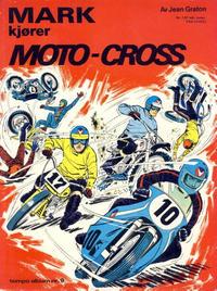 Cover Thumbnail for Tempo album (Hjemmet / Egmont, 1967 series) #9 - Mark kjører moto-cross