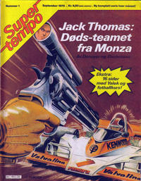 Cover Thumbnail for Supertempo (Hjemmet / Egmont, 1979 series) #1/1979