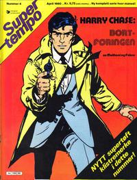 Cover Thumbnail for Supertempo (Hjemmet / Egmont, 1979 series) #4/1980