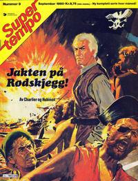 Cover Thumbnail for Supertempo (Hjemmet / Egmont, 1979 series) #9/1980