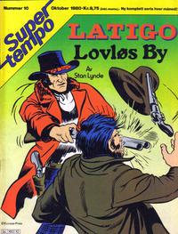 Cover Thumbnail for Supertempo (Hjemmet / Egmont, 1979 series) #10/1980
