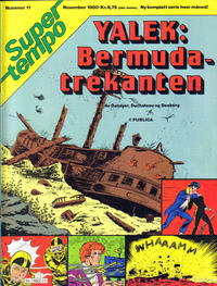 Cover Thumbnail for Supertempo (Hjemmet / Egmont, 1979 series) #11/1980