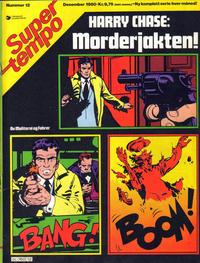 Cover Thumbnail for Supertempo (Hjemmet / Egmont, 1979 series) #12/1980
