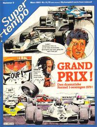 Cover Thumbnail for Supertempo (Hjemmet / Egmont, 1979 series) #3/1981