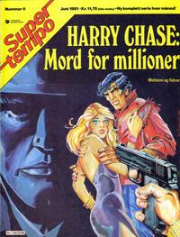 Cover Thumbnail for Supertempo (Hjemmet / Egmont, 1979 series) #6/1981