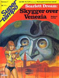 Cover Thumbnail for Supertempo (Hjemmet / Egmont, 1979 series) #7/1981
