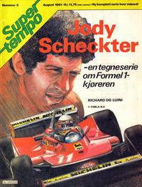 Cover Thumbnail for Supertempo (Hjemmet / Egmont, 1979 series) #8/1981