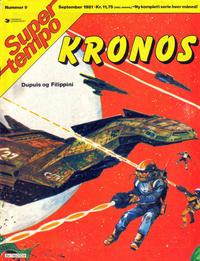 Cover Thumbnail for Supertempo (Hjemmet / Egmont, 1979 series) #9/1981