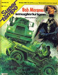 Cover Thumbnail for Supertempo (Hjemmet / Egmont, 1979 series) #10/1981