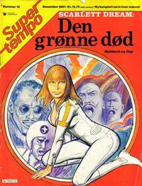 Cover Thumbnail for Supertempo (Hjemmet / Egmont, 1979 series) #12/1981